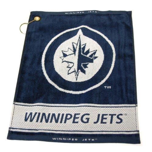 (Team Golf NHL Winnipeg Jets Jacquard Woven Golf Towel, 16