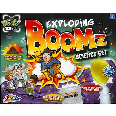 Weird Science - Exploding Boomz Science Set