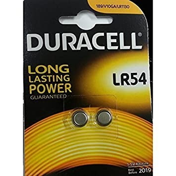 ENVOI AVEC SUIVI - DURACELL Lot de 20 piles-bouton alcalines AG10  LR54-LR1130 3def4474e6c9