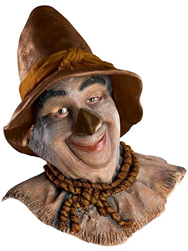 Rubie's Costume Co Wizard of Oz Overhead Scarecrow Mask, Multicolor, One Size -