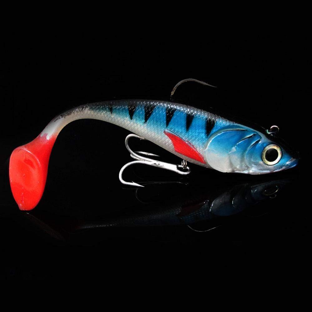 Sellify Esche da Pesca - Relefree Ozean Barca Pesca EIN traina Lure 20cm / 120g di Piombo Pesce GT Cattura Bass tonno Sgombri Big Game Fishing Lure weich