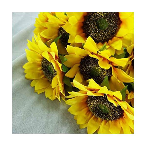 Lily-Garden-24-Silk-Sunflowers-Artificial-Flowers-Decor-1