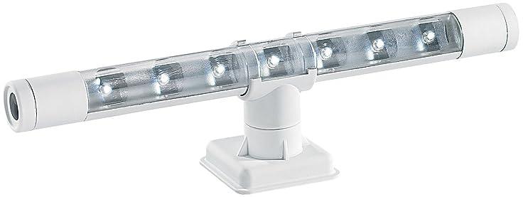 Lunartec Led Leuchten Batterie: Flexible Kaltweiße 4In1-Led