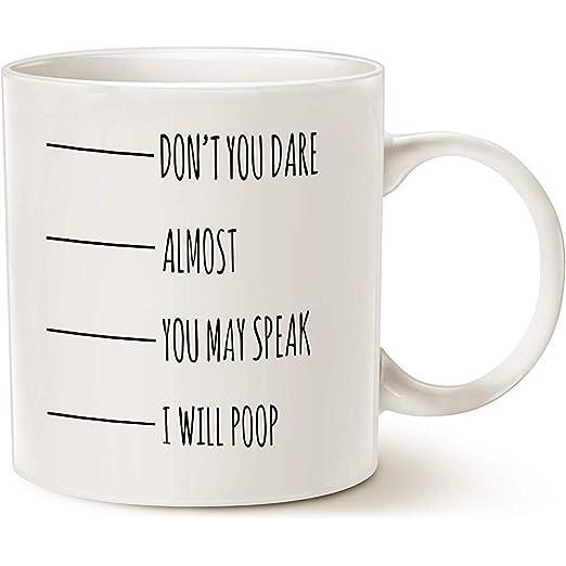 Regalos divertidos de la taza de café de la cita, no te ...