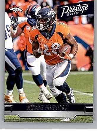 competitive price f0c0f 85fbf Amazon.com: 2019 Prestige NFL #121 Royce Freeman Denver ...
