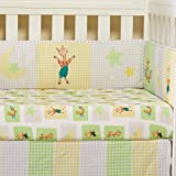 Llama Llama / Green 2-Pack Fitted Crib