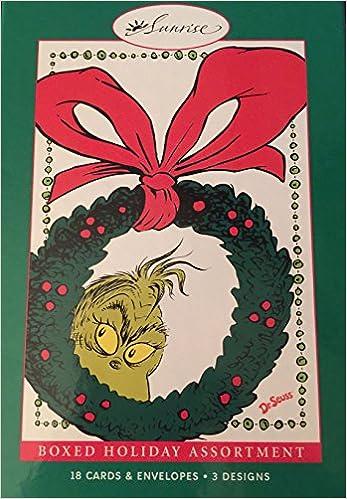 18 Assorted Grinch Christmas Cards: Dr. Seuss Enterprises