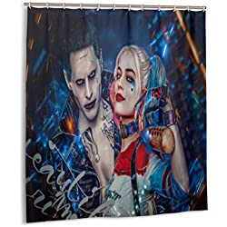 51QuXbPSntL._AC_UL250_SR250,250_ Harley Quinn Shower Curtains