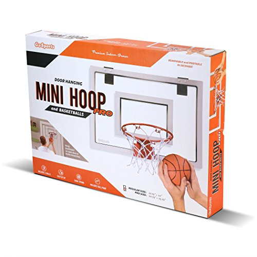 GoSports Basketball Door Hoop with 3 Premium Basketballs & Pump – DiZiSports Store