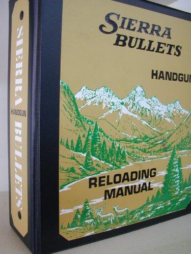Sierra Bullets Handgun Reloading ()