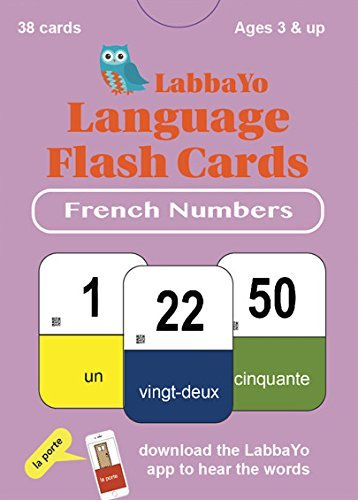 French Number Flash Cards - LabbaYo - French Language Flash Cards -