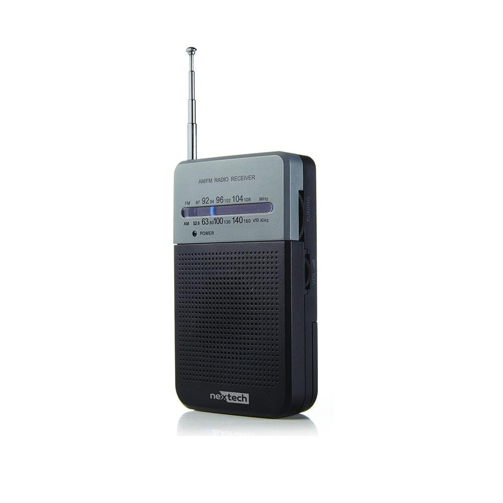 Nexxtech AM/FM Pocket Radio