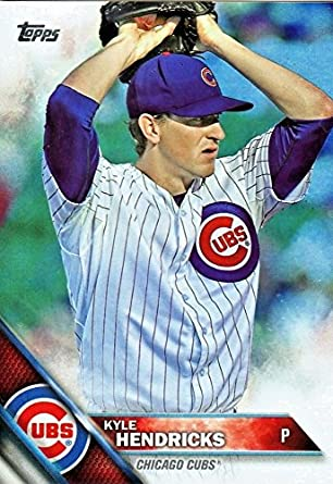 Amazoncom 2016 Topps 314 Kyle Hendricks Chicago Cubs