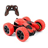 Trippix RC Stunt Cars, 4WD 2.4Ghz 1/28 Remote Control Off Road Toy Car, Double Sided 360° Rotatable Flippable High Speed Vehicle Toy for Kids, Teens & Adult