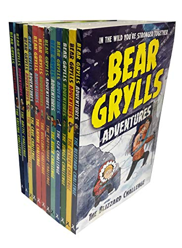 Bear Grylls Complete Adventure Series 12 Books Collection Set ()