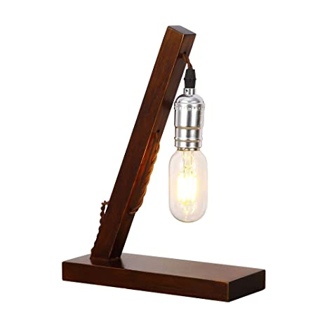 Injuicy vintage wooden table lamps wood metal desk lamp base for injuicy vintage wooden table lamps wood metal desk lamp base for bedside bedroom aloadofball Choice Image