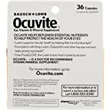 Bausch + Lomb Ocuvite Lutein Capsules, 36 Count