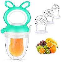 Feeder, Baby Fruit Feeder, Baby Fruit Pacifier Fresh Food Feeder, Silikonnippel Baby Fruit Spädbarn Avvänjning Tänder…