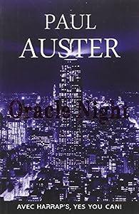Harrap's Oracle Night par Paul Auster