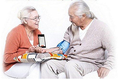 Original XIAOMI iHealth Blood Pressure Tensiómetro de brazo Presión Arterial Dock Monitor inteligente de tensión BP3 para XIAOMI Redmi: Amazon.es: Hogar