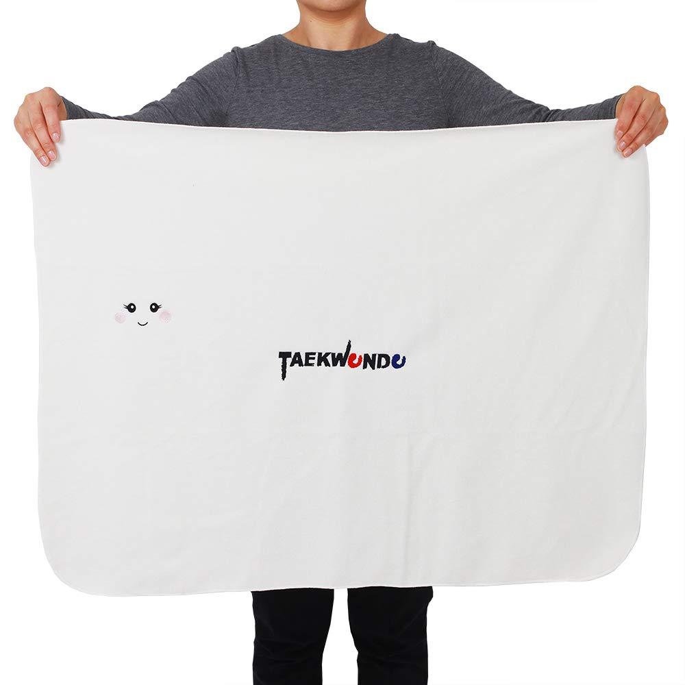 TAE-S Super Soft Taekwondo Inspired Fleece Blanket That Can Transform Into a Doll HOW COMPANY Blue Uniform Boy Multi-Purpose Lightweight and Fleece