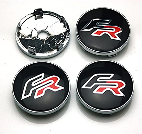 BENZEE 4pcs W235 60mm Car Emblem Badge Sticker Wheel Hub Caps Centre Cover FR Racing SEAT Ibiza Leon Toledo Arosa Alhambra, Hubcaps - Amazon Canada