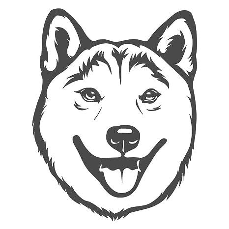 Amazon Com Happy Shiba Inu Dog Doge Meme 8 Inch Dark Gray