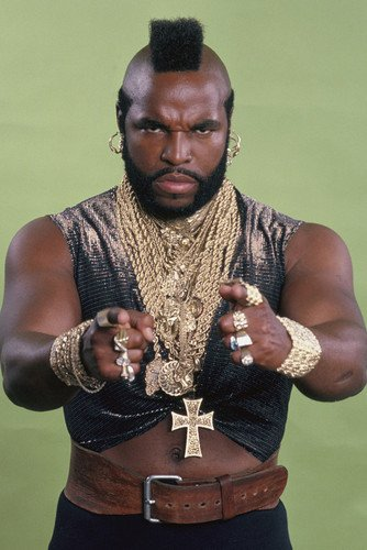 Mr. T Classic From The A Team 24x36 Poster (Team Poster)