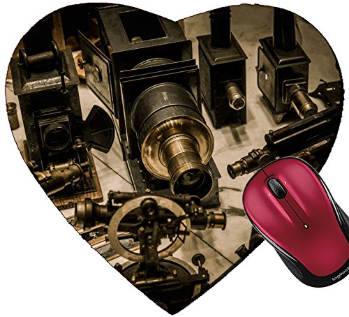 Liili Mousepad Heart Shaped Mouse Pads/Mat IMAGE ID 33240455 Vintage optical devices in a - Vintage Shop Optical The