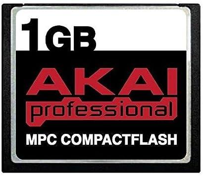 MPC2000 and MPC3000 MPC2500 MPC2000xl MPC1000 MPC4000 1GB Akai MPC CompactFlash CF Memory Card for MPC500