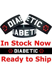 Diabetic One Inch Wristband