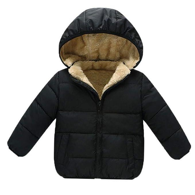 ba98b11fa05b Amazon.com  Baby Boys Girls Winter Coats Outerwear Fashion Hooded ...