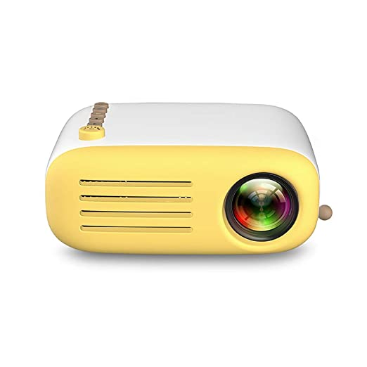 John-L Proyector Cine En Casa, Mini Proyector De Video LED Altavoz ...