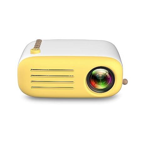 John-L Proyector Cine En Casa, Mini Proyector De Video LED Altavoz ...