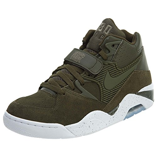 Nike Air Force Des Hommes En Cuir 180 Kaki / Sneaker Synth
