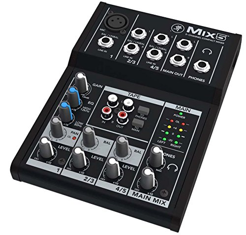 Mackie Mix Mix5 5 Channel Mixer product image