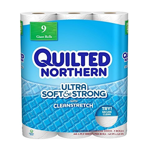 Quilted-Northern-Ultra-Soft-Strong-Bath-Tissue-2-Ply-268-Sheets-per-Roll-9-Mega-Rolls-2412-Total-Sheets-by-Quilted-Northern