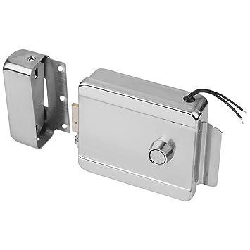 Universal Security Elektroschloss Elektrische Steuerung T/ürschloss F/ür T/ür Access Control System Kit