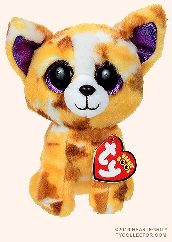 New TY Beanie Boos Cute Pablo the Chihuahua Plush Toys 6'' 15cm Ty Plush Animals Big Eyes Eyed Stuffed Animal Soft Toys for Kids Gifts ()