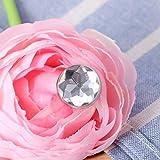 ROSENICE Crystal Head Upholstery Nails Tacks