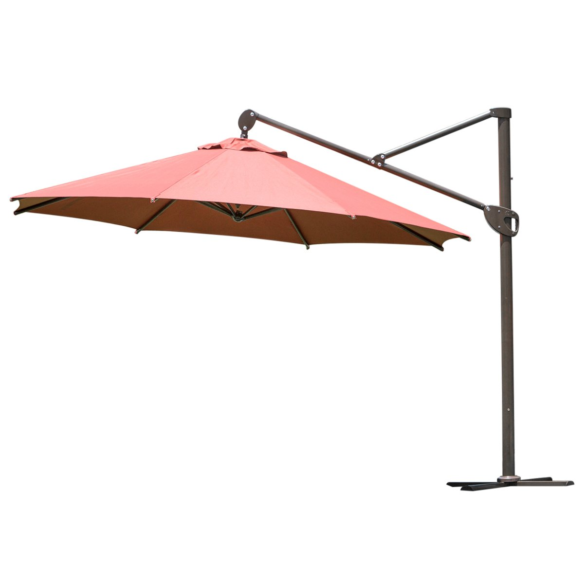 amazon com abba patio offset patio umbrella 11 feet hanging
