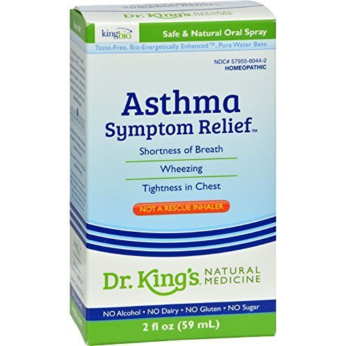 King Bio Homeopathic Asthma Free 2 Oz by KING BIO HOMEOPATHIC
