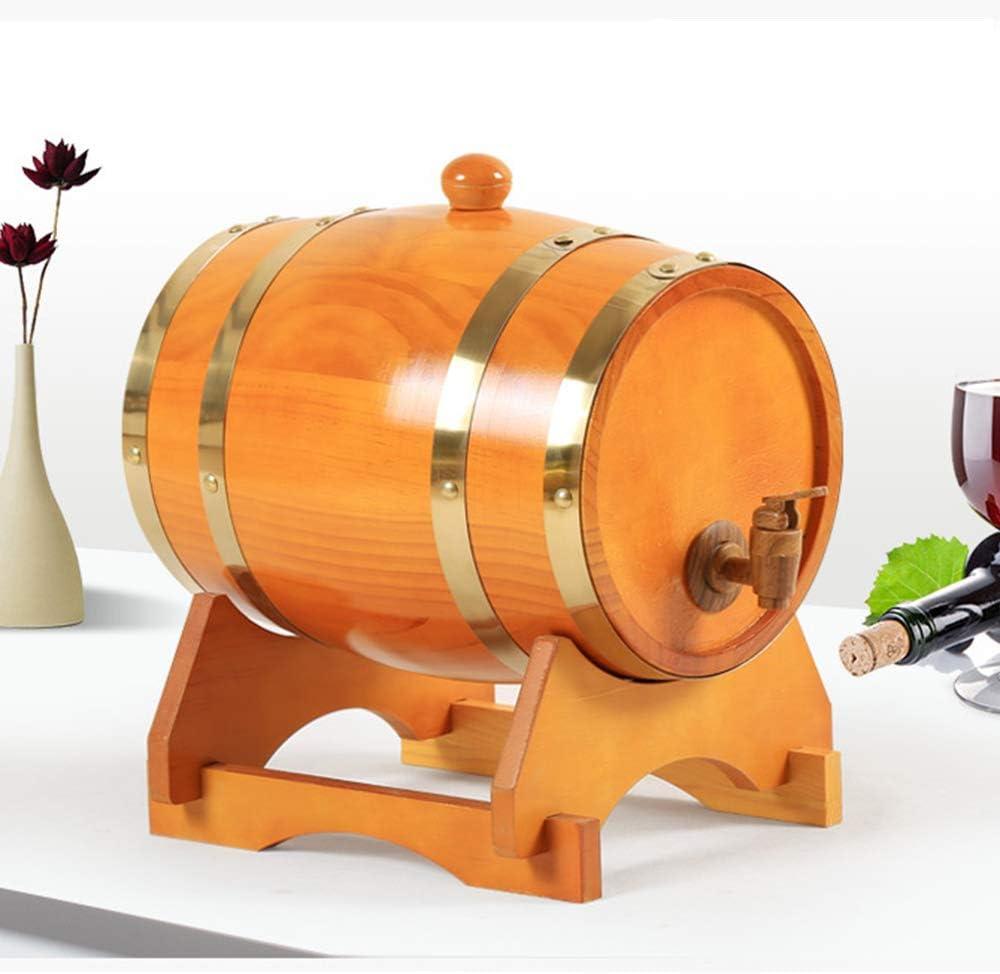 ZXPYZ Roble Barril De Vino - Cerveza, Whisky, Ron Puerto De Barriles De Roble del Vino De Madera Viejos, Roble - Maroon 20L