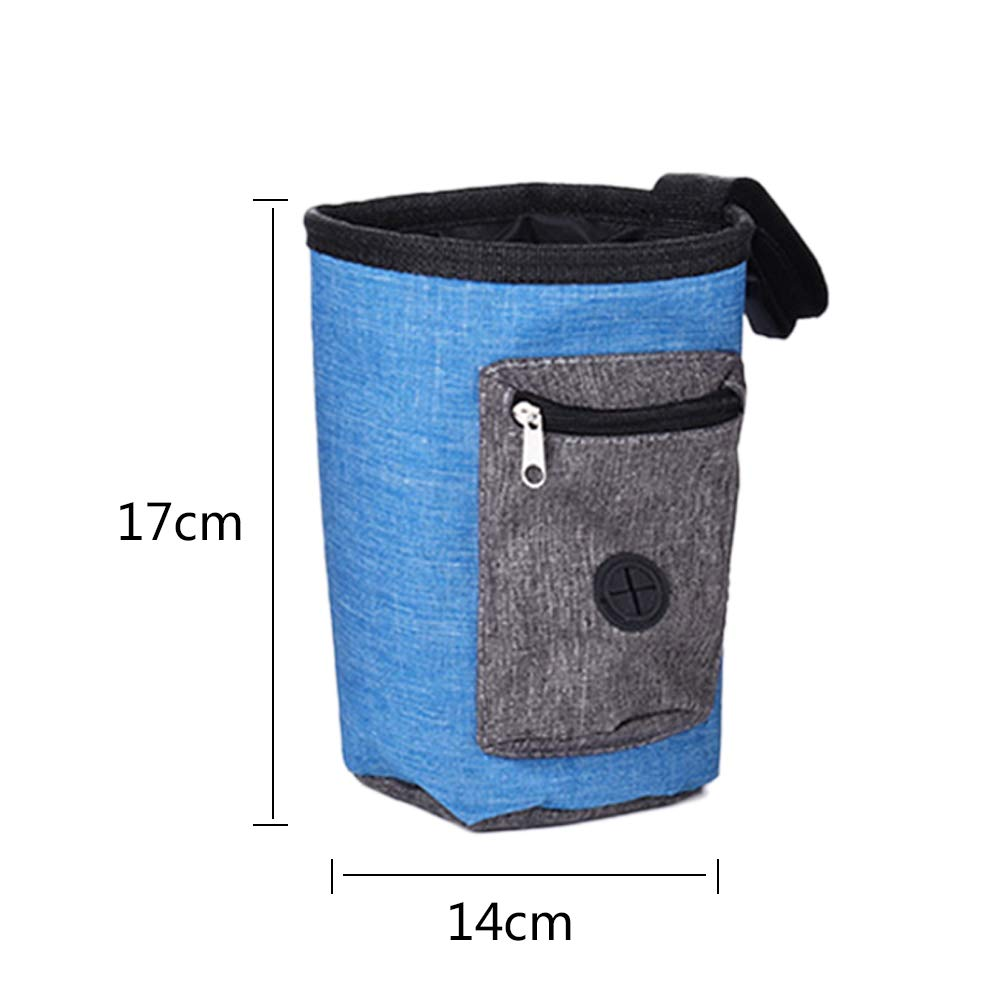 Blue Dog Training Pouch for Treats Dog Treats Pouch