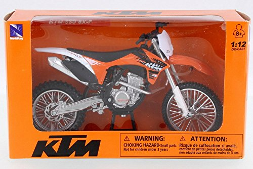 New Ray KTM 350 S-F Dirtbike, Orange 44093S - 1/12 for sale  Delivered anywhere in USA
