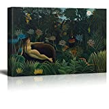Wall26 - The Dream by Henri Rousseau - Canvas Print Wall Art Famous Painting Reproduction - 16'' x 24''