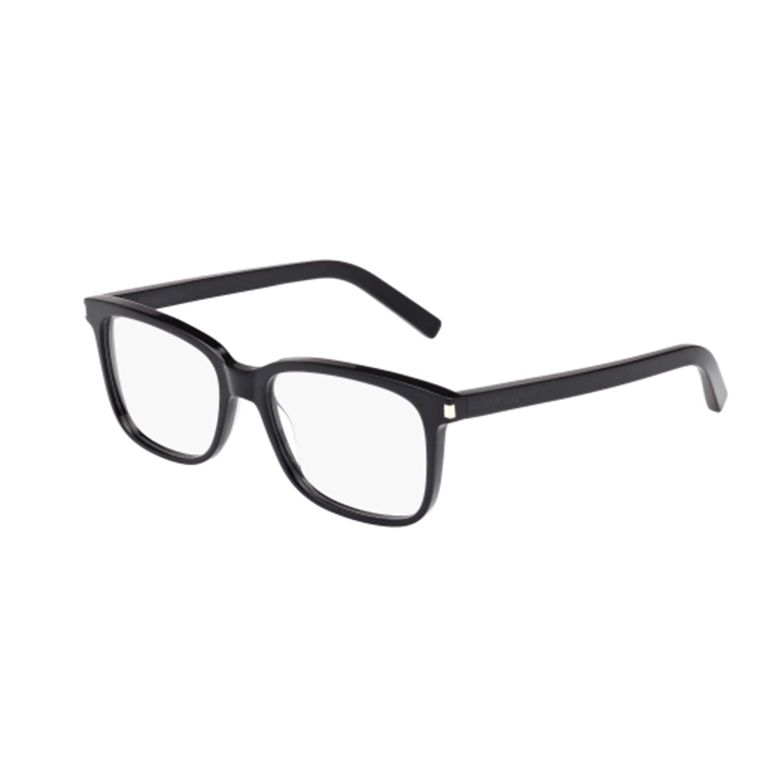 Saint Laurent Eyeglasses SL89 SL//89 001 Black//Transparent Optical Frame 54mm
