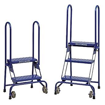 ballymore rígida 4 paso perforado lock-n-stock escalera, 10 x 24 x 65 Inch – -1 cada.: Amazon.es: Amazon.es