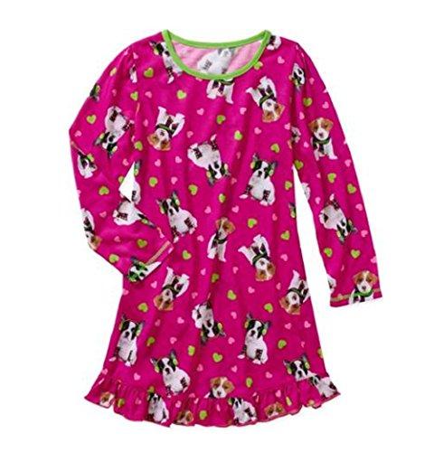 d72e7e6b47 Big Girls Puppy Dog Kitty Cat Sleep Gown Nightgown Sleepwear - Import It All