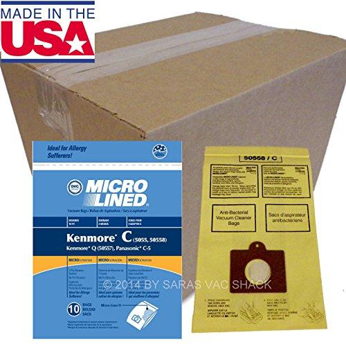 250 Sears Kenmore Vacuum Cleaner Bags 5055 50557 50558 Ba...